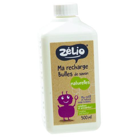 Zelio Přírodní bublifuk náplň 500 ml