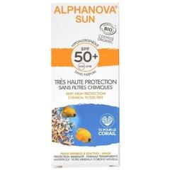 Alphanova Opalovací krém na obličej SPF 50+ 50 g