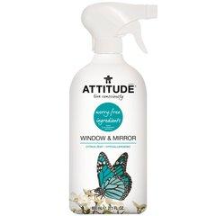 Attitude Bio Čistič na sklo a zrcadla s vůní citronové kůry 800 ml