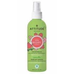 Attitude Little leaves Sprej pro snadné rozčesávání dětských vlásků s vůní melounu a kokosu 240 ml
