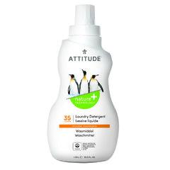 Attitude Prací gel s vůní citronové kůry 1,05 l