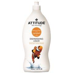 Attitude Prostředek na mytí nádobí s vůní citrusové kůry 700 ml