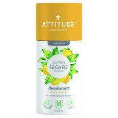 ATTITUDE Super leaves Přírodní tuhý deodorant citrusové listy 85 g