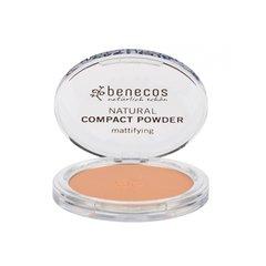 Benecos Kompaktní pudr - beige BIO, VEG