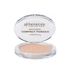 Benecos Kompaktní pudr - sand BIO, VEG
