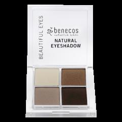 Benecos Oční stíny 4paletka coffee & cream BIO 8 g