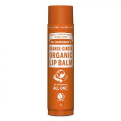 Dr. Bronner's Balzám na rty Orange-Ginger 4 g