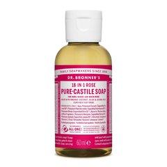 Dr. Bronner's Tekuté universální mýdlo ALL-ONE! Rose 60 ml