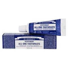 Dr. Bronner's Zubní pasta Peppermint 28 g