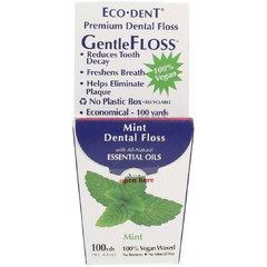 ECO-DENT Zubní nit Gentle floss mátová VEGAN 91 m