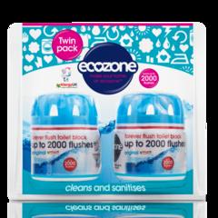 Ecozone osvěžovač a čistič WC Duo Pack
