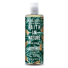 Faith For Men šampon Modrý cedr MAXI 400 ml