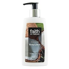 Faith in Nature kokosové tělové mléko hypoalergenní 150 ml