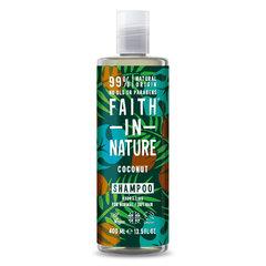 Faith in Nature kokosový šampon 400 ml
