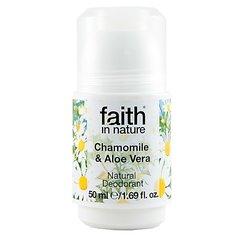 Faith in Nature kuličkový deodorant Heřmánek 50 ml