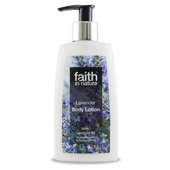 Faith in Nature Levandulové tělové mléko 150 ml