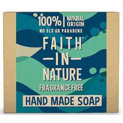 Faith in Nature rostlinné tuhé mýdlo bez parfemace 100 g