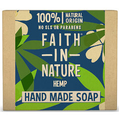 Faith in Nature rostlinné tuhé mýdlo citrus/konopí 100 g