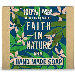 Faith in Nature rostlinné tuhé mýdlo s Neem 100 g