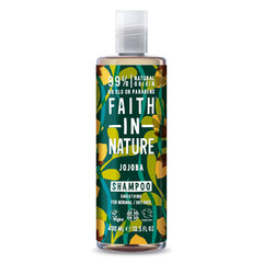 Faith in Nature šampon s jojobovým olejem 400 ml