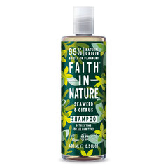 Faith in Nature šampon s mořskou řasou 400 ml