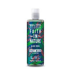 Faith in Nature sprchový gel Aloe Vera 400 ml