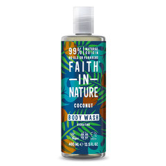 Faith in Nature sprchový gel Kokos 400 ml