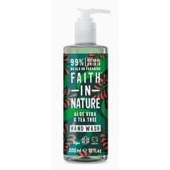 Faith in Nature tekuté mýdlo Aloe Vera/Tea Tree 300 ml + 100 ml zdarma