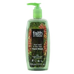 Faith in Nature tekuté mýdlo Aloe Vera/Tea Tree 300 ml