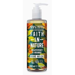 Faith in Nature tekuté mýdlo Grep/Pomeranč 300 ml