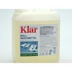 KLAR Tekutý prací prostředek na vlnu, hedvábí a jemné tkaniny 2,5 l