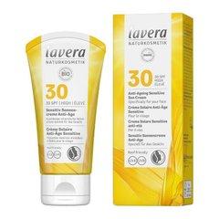 lavera Opalovací krém Sensitiv SPF 30 AntiAge 50 ml