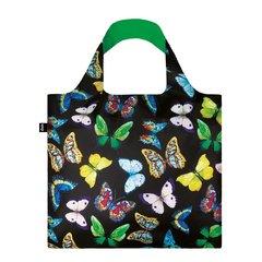 LOQI - Wild Butterflies Skládací nákupní taška