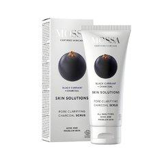 Mossa Skin Solutions Černý peeling s aktivním uhlím 60 ml