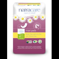 NATRACARE Menstruační vložky Maxi REGULAR 14 ks