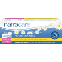 NATRACARE Tampóny SUPER PLUS 20 ks