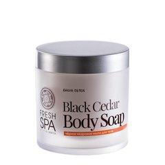 Natura Siberica Fresh Spa Bania Detox Černé cedrové tělové mýdlo 400 ml
