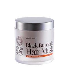 Natura Siberica Fresh Spa Bania Detox Maska pro růst vlasů Černý lopuch 400 ml