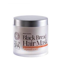 Natura Siberica Fresh Spa Bania Detox Maska pro sílu a lesk vlasů Černý chléb 400 ml