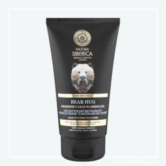 Natura Siberica Men Probouzející čisticí gel na obličej Medvědí objetí 150 ml