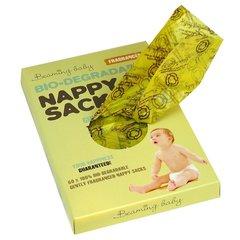 Organické sáčky na použité plenky s vůní Beaming baby (60 ks)