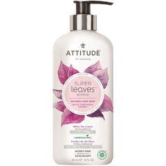 Přírodní mýdlo na ruce ATTITUDE Super leaves s detoxikačním účinkem - čajové listy 473 ml