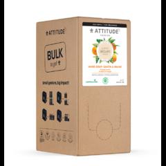 Přírodní mýdlo na ruce ATTITUDE Super leaves s detoxikačním účinkem - pomerančové listy - náhradní kanystr 2 l