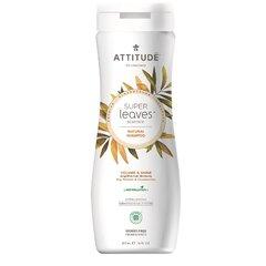 Přírodní šampón ATTITUDE Super leaves s detoxikačním účinkem - lesk a objem pro jemné vlasy 473 ml