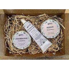 Pupen Dárkový balíček na tělo s levandulovým krémem