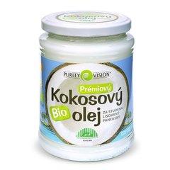 PURITY VISION Kokosový olej panenský BIO 600 ml