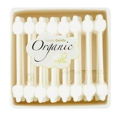 Simply Gentle Organické dětské vatové tyčinky 56 ks